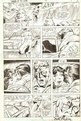 Power Of The Atom 6 P.6 - Caught Cheating - 1988 Signed Art By John Byrne
