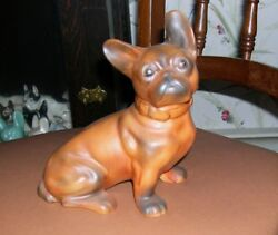 French Bulldog Statue- Figurine-Large Sized-Dog Figure- Seated