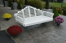 Aandl Furniture Co. Amish-made Poly Marlboro Swing Beds - In 4 Sizes, 13 Colors