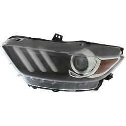 Capa Headlight For 2015-2017 Ford Mustang Driver Side
