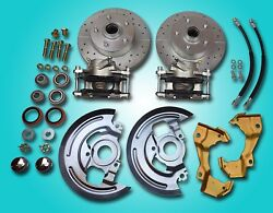 1964-1972 Gm A Body Deluxe Front Disc Brake Refresh Repair Kit All New Parts