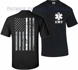 Thin White Line EMS EMT Paramedic Emergency Medical Services T-Shirt Tshirt Tee