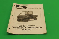 Used Kawasaki Mule 4010 Diesel 4x4 Utility Vehicle Assembly And Prep 99931-1496-01