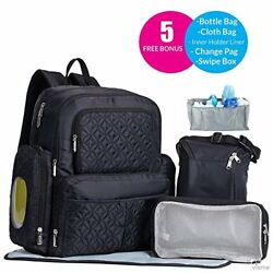 Diaper Bag Travel Backpack For Women Men Gifts Set Multi Function Baby Bags With