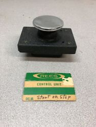 """New Rees 2-1/4"""" Chrome Plunger Control Unit Start/stop 2653 Nos"""