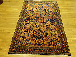 7and0398 X 5and0394 Lilian Handmade Hand Knotted Genuine Antique Rug