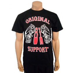 Hells Angels Support Shirt Guns And Hammer Original 81 Support And Fight For Ha