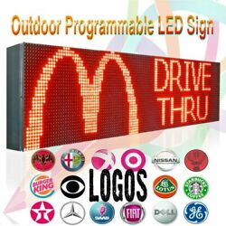 25 X 50 Outdoor/ Indoor Programmable Programmable Text/ Animation Display Sign