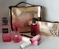 Lot 8 Victoria Secret BOMBSHELL EDP Night Paris MIST Rollerball cosmetic bags