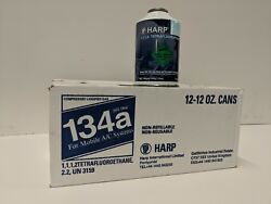 12-12 ounce cans R-134A  .new factory sealed case Virgin AUTOMOTIVE refrigerant