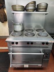 Electric Commercial Stove Vulcan