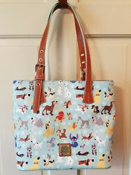 Dooney and Bourke Disney Dogs Tote NEW NWT Sold Out and Hard to find!