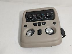2004 CADILLAC ESCALADE OVER HEAD DOME LIGHT HEATER AC CLIMATE CONTROL OEM