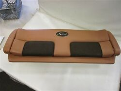 Scout Seat Backrest Cushion With Rod Holder 44 1/8 X 15 1/2 Tan / Brown Boat