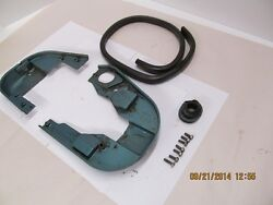 1957 Evinrude Lower Cowl Tray With Hardware And Seals 7.5 Hp