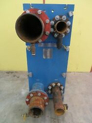 Mueller Plate Type Heat Exchanger At405 C-20 4 And 6 Ports 48 Plates