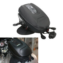 Motorcycle 9-12L Extended Tank Bag Riding Bag Luggage Waterproof Durable Oxford