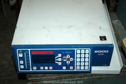 Branson 2000 2000ea 400.8 800w Welder Control Controller - Powers Up And Displays