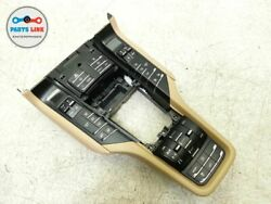 2011-2012 PORSCHE CAYENNE 958 CENTER CONSOLE CLIMATE HEATER SWITCHES PANEL4 ZONE
