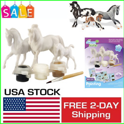 Horse Family Painting Craft Activity Set Horse Toys For Girls Boys 3 Stablemates