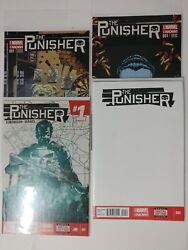 Marvel Comic Lot The Punisher 001 Variant 2 001 2 Nm Bagged Boarded