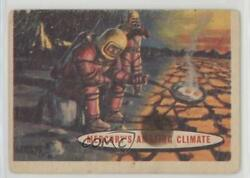 1957 Topps Space Cards #77 Mercury's Amazing Climate Non-Sports Card 0s4