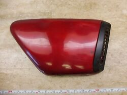 1973 Yamaha Tx750 Tx 750 Twin Y750and039 Oil Tank Left Side Cover Body Panel