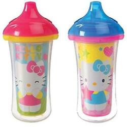 Baby Feeding Count 2 Munchkin Hello Kitty Click Lock Insulated Sippy Cup 9 Ounc