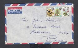 Fiji 1967/9 Airmail Cover And Postcard Suva To New South Wales Australia