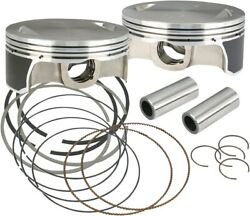 S And S Cycle 106-3872a Piston Kits 4.125 Bore Plus .010