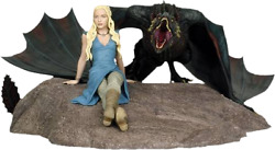 Game Of Thrones - Daenerys And Drogon Statue-dhc26-772