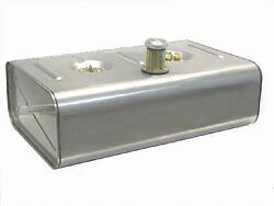 Universal Stainless Steel Gas Tank - 16 Gallon - For Fuel Injection - Utss-2t