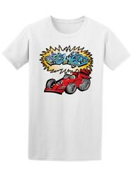 F1 Car With Mural Men's Tee -Image by Shutterstock