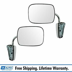 Dorman 955-190 Mirror Stainless Pair Set For Chevy Blazer Pickup Truck Gmc