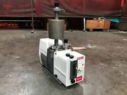 Varian Sd-91 Dual Stage Vacuum Pump With Ome 25s