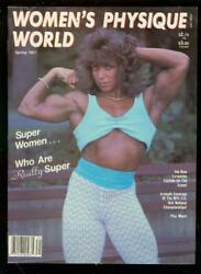 Womenand039s Physique World 10-spg 1987-female Bodybuilding Vf