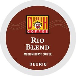 Diedrich Rio Blend Coffee 24 To 192 Keurig K Cups Pick Any Size Free Shipping