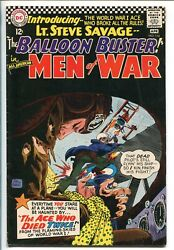 All-american Men Of War 114-1966-dc-balloon Buster-lt Savage-black Cover-vf