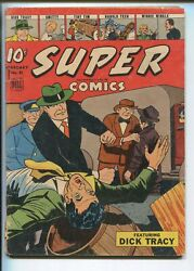 Super 81 1945-dell-dick Tracy-moon Mullins-clyde Beatty-wwii-smitty-vg