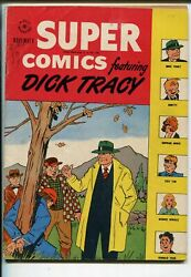 Super 114 1947-dell-dick Tracy-moon Mullins-clyde Beatty-harold Teen-fn