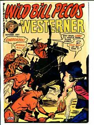 Westerner 40 1951-patches-indian Torture Cover-syd Shores-vf/nm