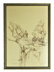 Ed Miracle Extremely Rare Artist Proof I Told You So Framed