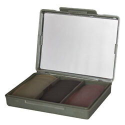 3-Color Chameleon Military Hunter Sniper Army Camo Makeup Face Paint Compact IDF