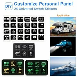 12V Switch Control Panel Electronic Relay System Kit For Car Boat Truck SUV RV