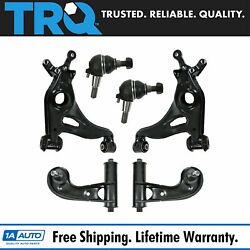 Trq Suspension Kit Front Control Arm Ball Joint For Mercedes Benz
