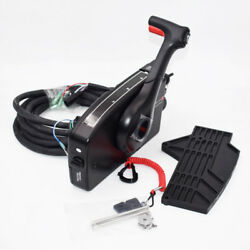 Boat Motor Outboard Mount Remote Control Box With 8 Pin Cable 15ft For Mercury