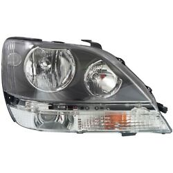 Headlight For 99-2000 Lexus Rx300 Base Model Right Clear Lens With Bulb