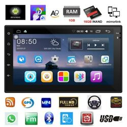 7inch Android 6.0 Double 2 Din Indash Car No Dvd Radio Stereo Player Wifi 3g Gps