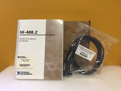 National Instruments 777332-02 Pcmcia-gpib, 2m Cable, Ni488.2 Cable Only New