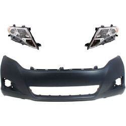 New Kit Auto Body Repair Front For Toyota Venza To1000354 To2502189 To2503189